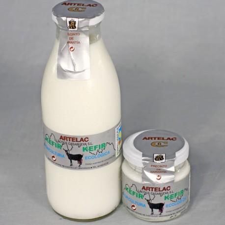Kefir ecologico de cabra Artelac