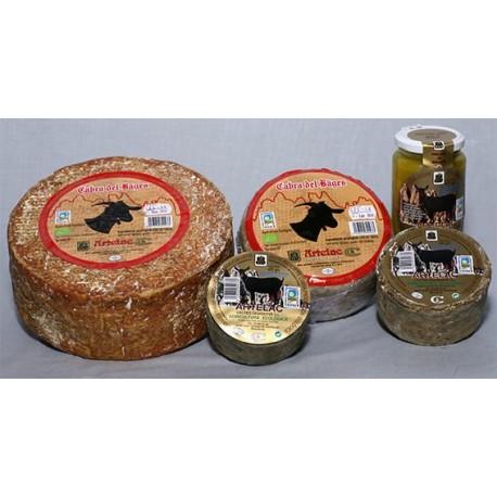 Quesos curados leche cruda cabra ecologico Artelac