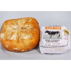 Quesos Binibeca artesanos de vaca Maho D.O.